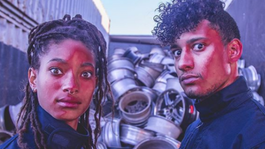 WILLOW (left) and Cole (right) as they appear in the press release photos for 'THE ANXIETY'.