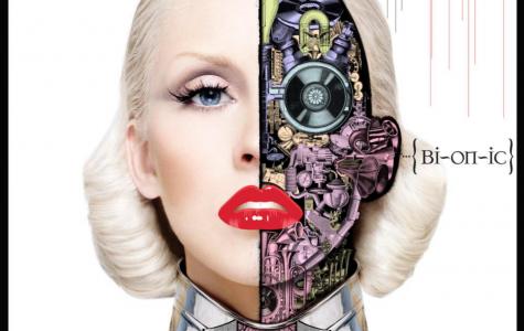 The cover of Christina Aguilera's sixth studio album, 'Bionic'.