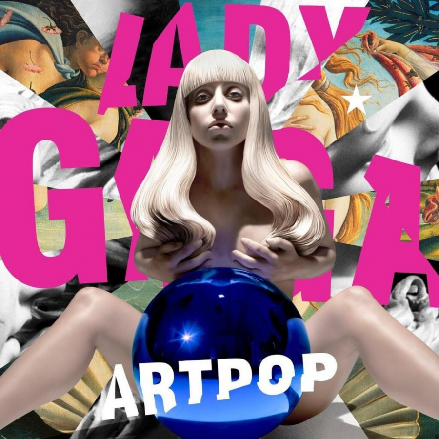 The cover of Lady Gaga's third studio album, 'ARTPOP'.
