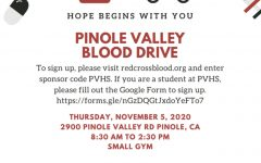 Flyer for Blood Drive.
